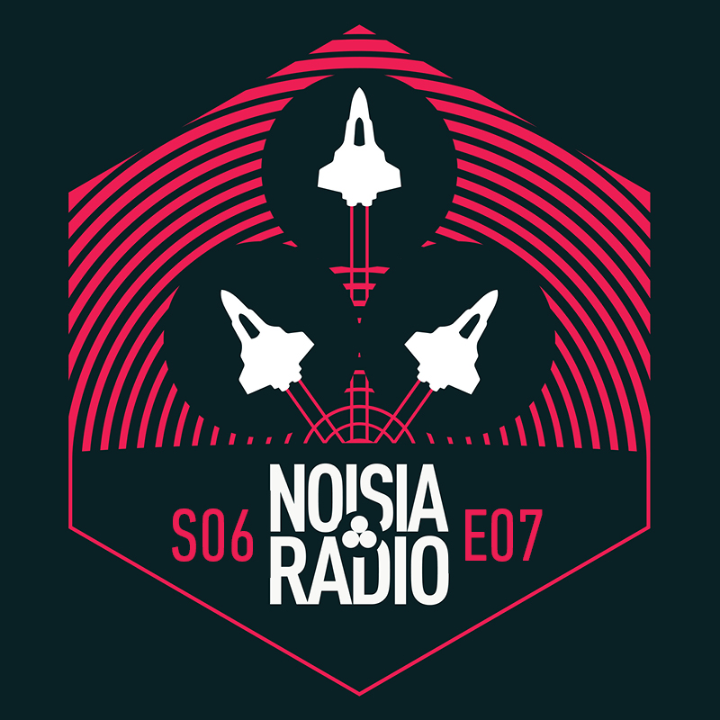 Noisia Radio S06E07 (Incl. Machinedrum & Holly Guest Mix)